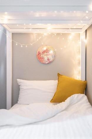 [スクンビット]アパートメント(16m2)| 1ベッドルーム/1バスルーム Better Moon  - Near Dawn Room