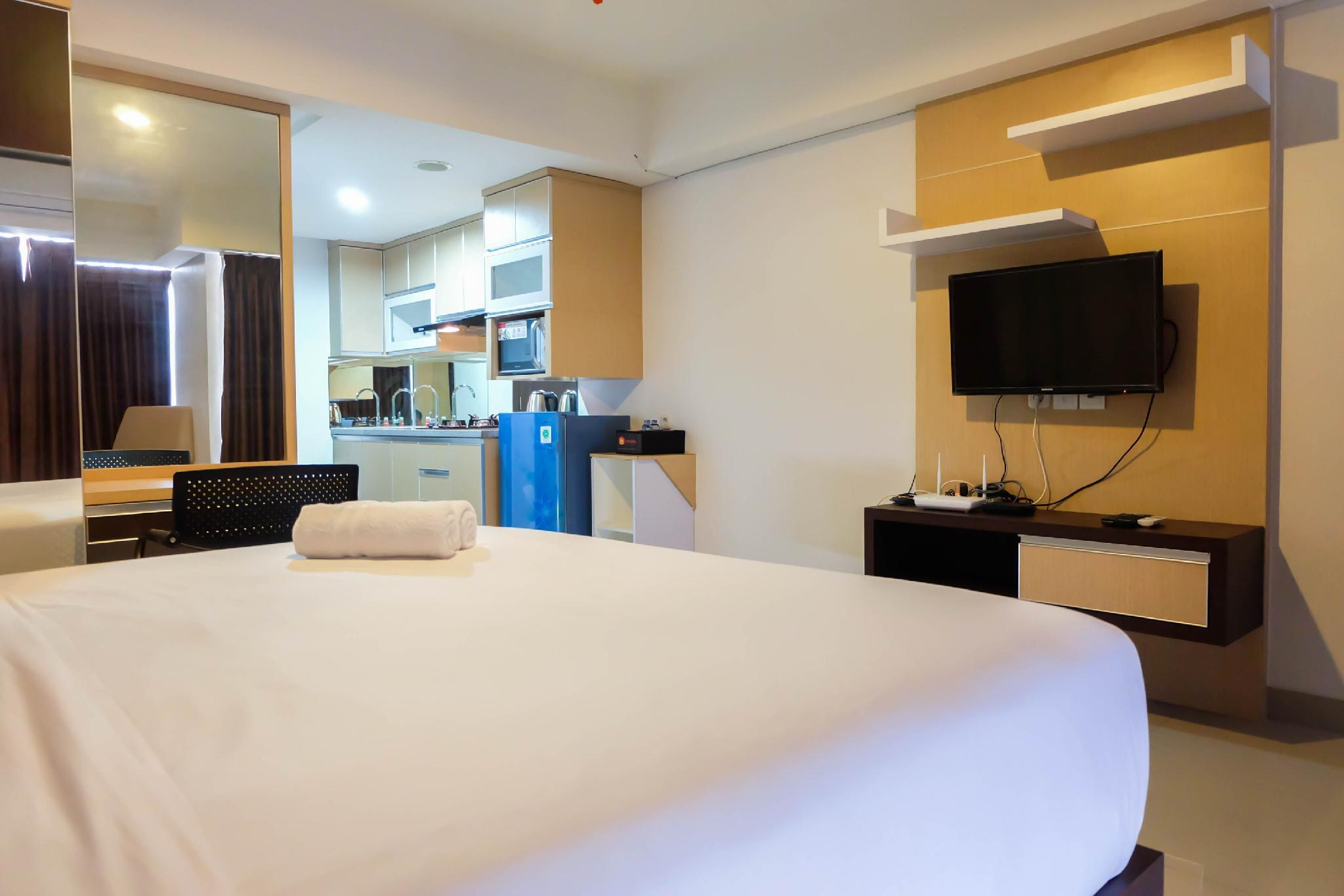 Modern And Brand New 1BR The H Residence By Travelio