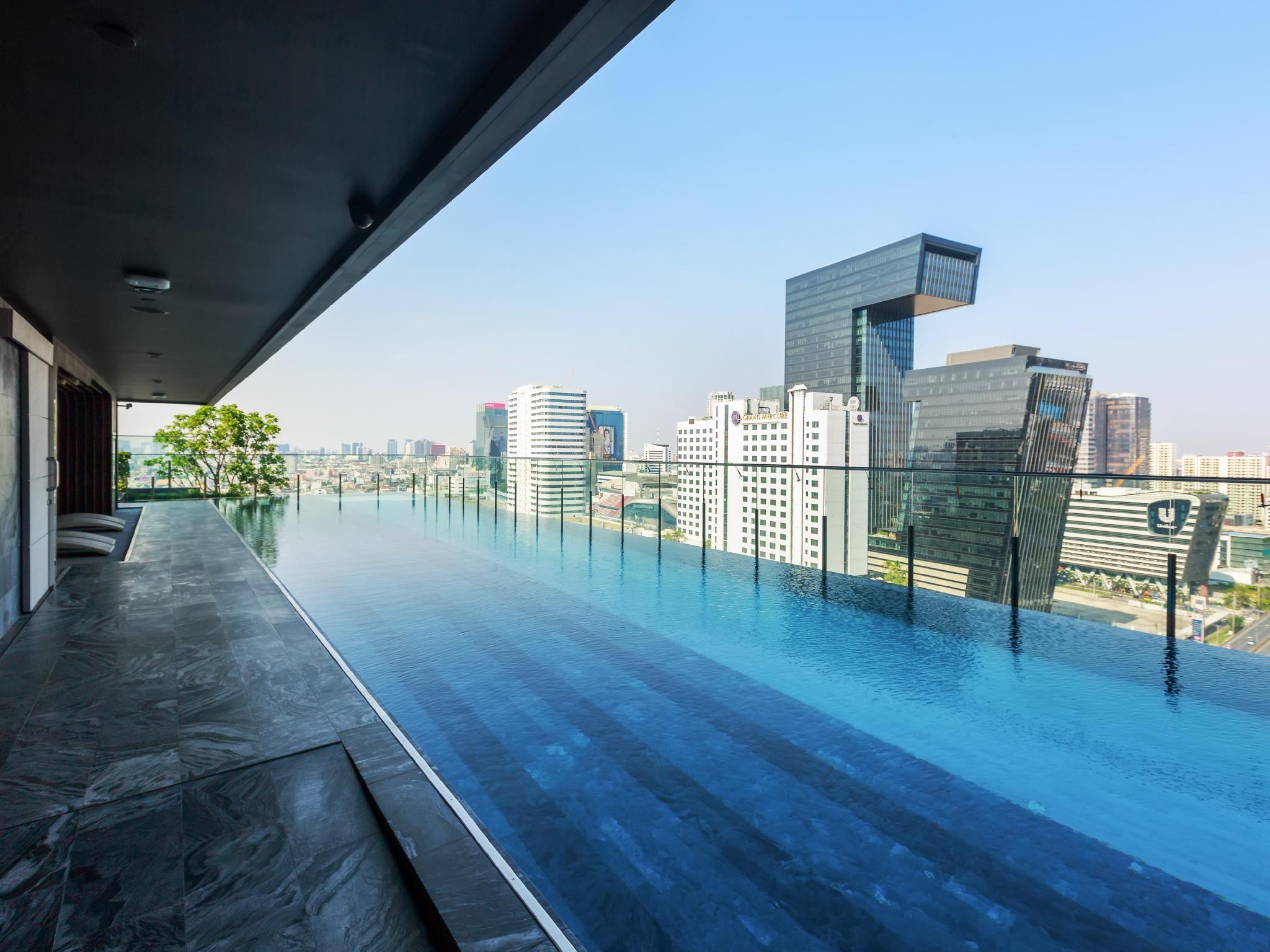 Modern & Cosy [2BR] 300m to MRT Praram 9 อพาร์ตเมนต์ 2 ห้องนอน 1 ห้องน้ำส่วนตัว ขนาด 50 ตร.ม. – รัชดาภิเษก