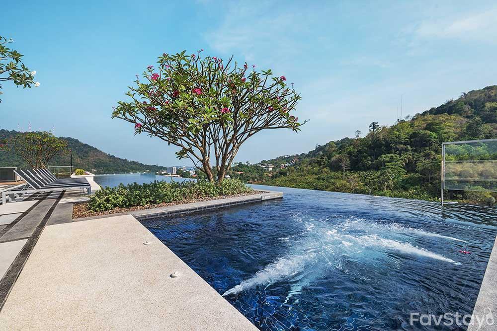 Premium Sky Pool Rooftop 1BR Phuket City อพาร์ตเมนต์ 1 ห้องนอน 1 ห้องน้ำส่วนตัว ขนาด 30 ตร.ม. – ตัวเมืองภูเก็ต