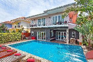 [ジョムティエンビーチ]ヴィラ(284m2)| 7ベッドルーム/7バスルーム Baan Calypso | Spacious 7 Bed Private Pool Villa