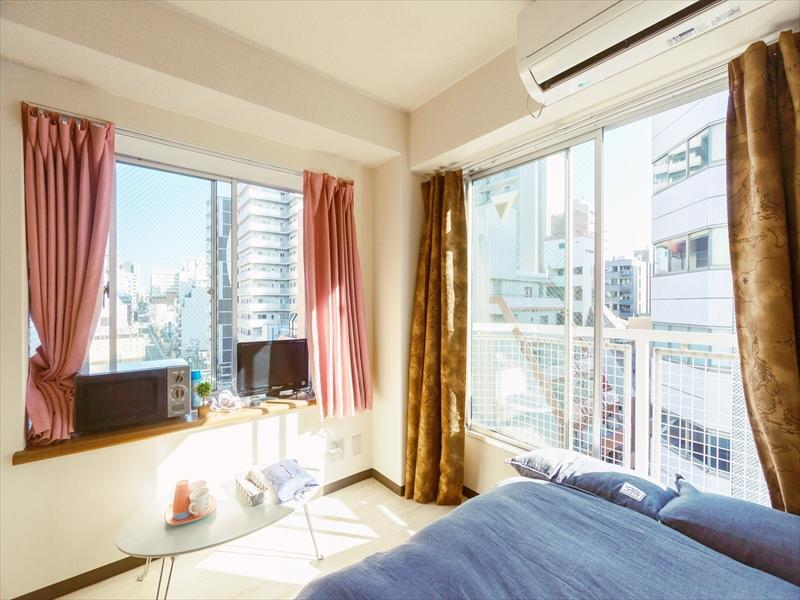 D224 Cozy Studio Apartment In Osaka Central  901