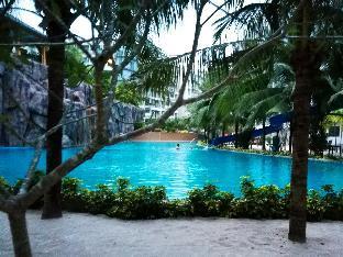 Maldives Pattaya largest pool อพาร์ตเมนต์ 1 ห้องนอน 1 ห้องน้ำส่วนตัว ขนาด 23 ตร.ม. – หาดจอมเทียน