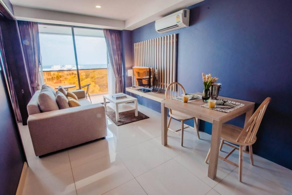 Front Seaview 1Bedroom W SofaBed@Rocco HuaHin 6G