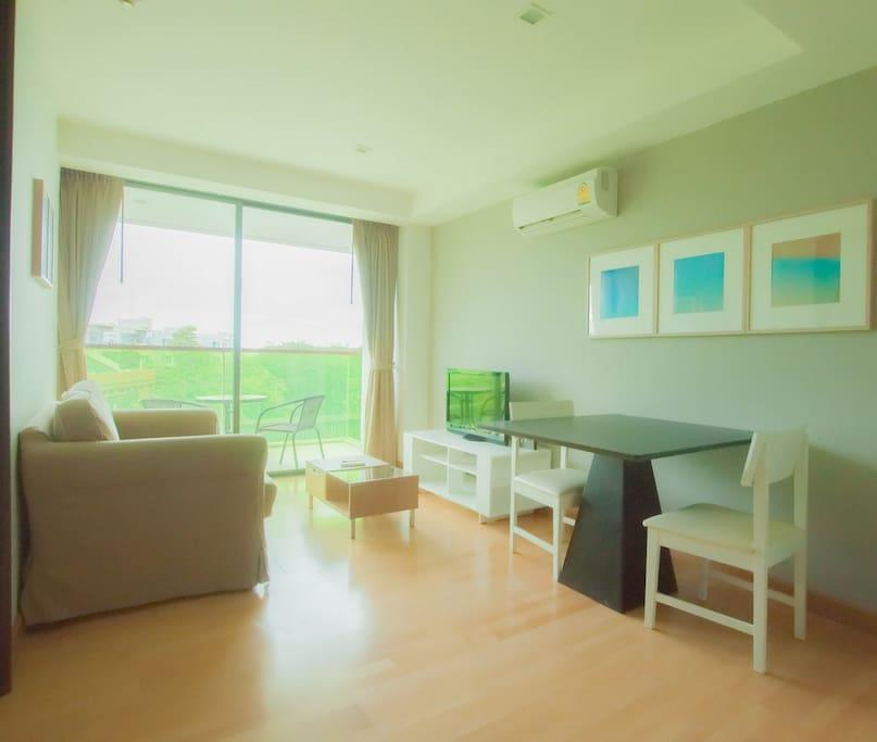 1BR Apartment With Poolview Partial@RoccoHuaHin 4H