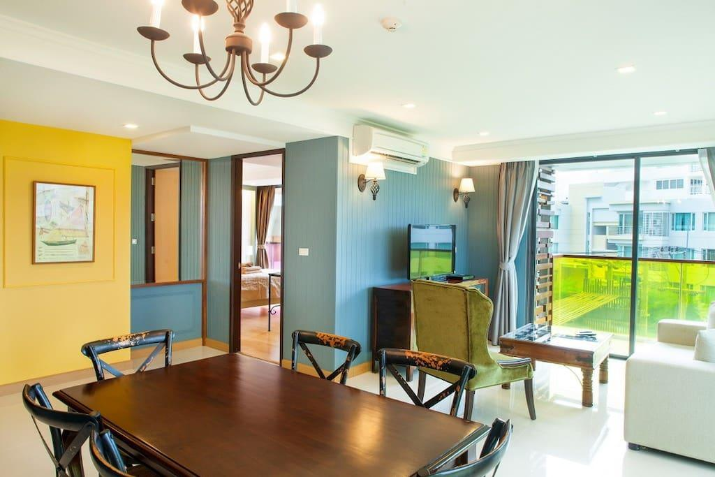 2BR Apartment With SofaBed PoolView@RoccoHuaHin 4K