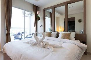 Cozy flat 300 Meter From Beach (pool/gym อพาร์ตเมนต์ 1 ห้องนอน 1 ห้องน้ำส่วนตัว ขนาด 25 ตร.ม. – นาจอมเทียน
