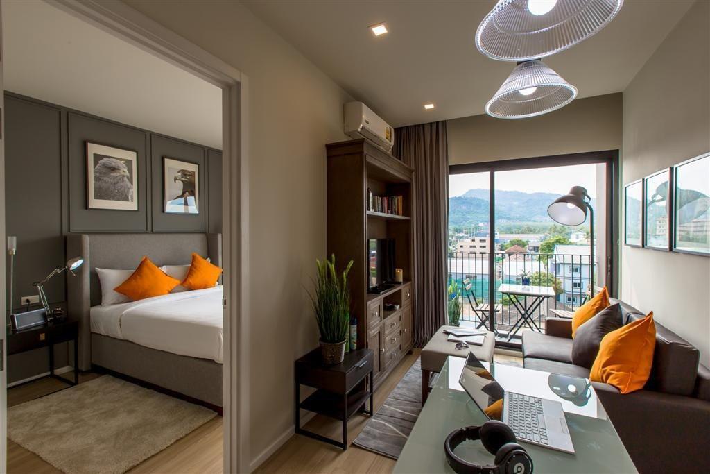 BEST DLUX Condo w/Kitchen Center 609 S/77 อพาร์ตเมนต์ 1 ห้องนอน 1 ห้องน้ำส่วนตัว ขนาด 38 ตร.ม. – ฉลอง