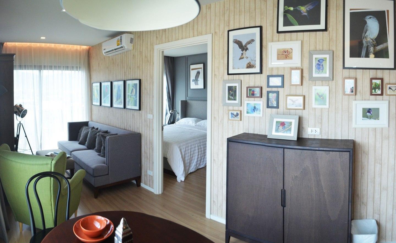 BEST DLUX Condo w/Kitchen Biggest Room 8 อพาร์ตเมนต์ 1 ห้องนอน 1 ห้องน้ำส่วนตัว ขนาด 30 ตร.ม. – ฉลอง