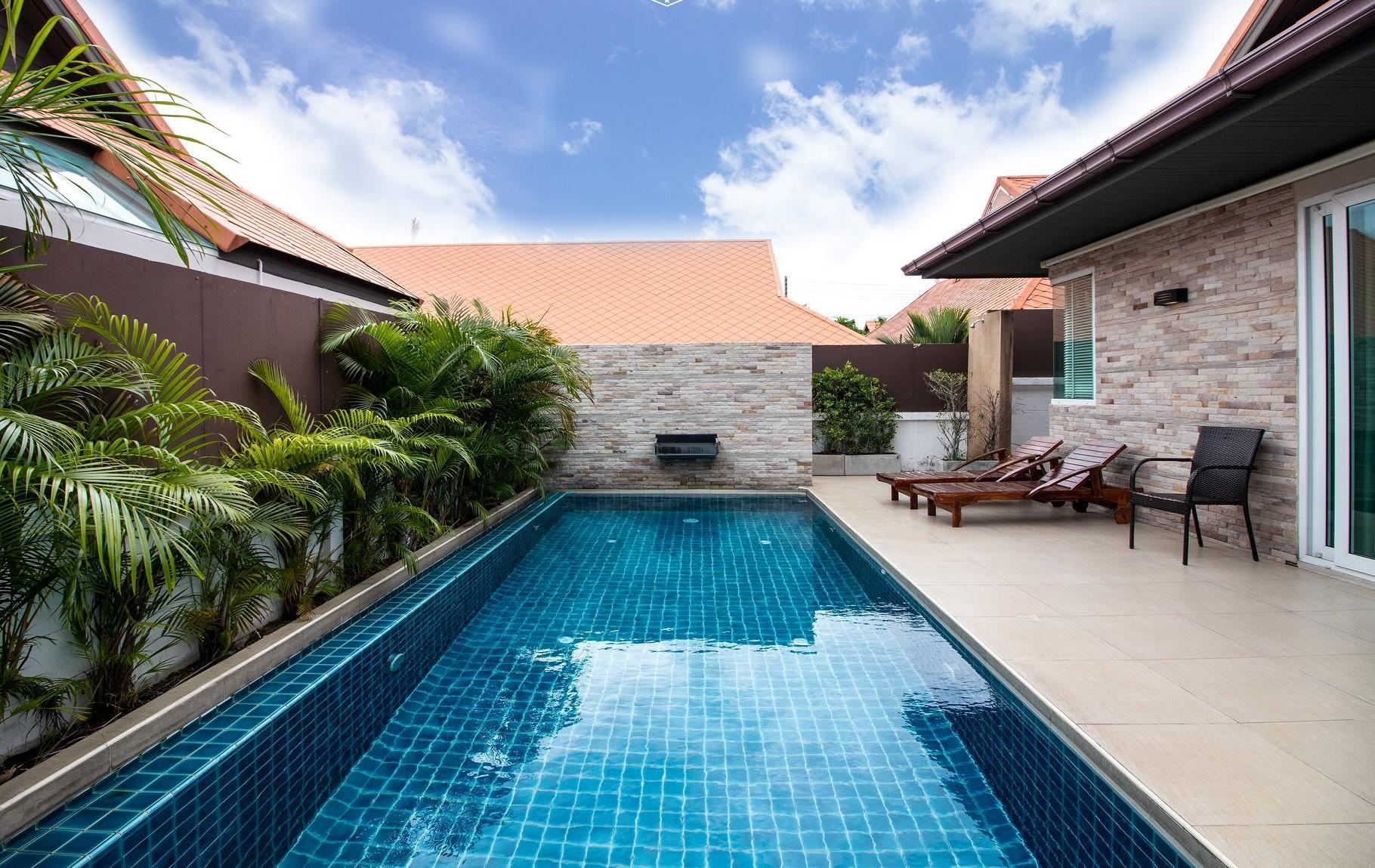 The Ville Pool Villa  3  Bedroom วิลลา 3 ห้องนอน 3 ห้องน้ำส่วนตัว ขนาด 235 ตร.ม. – เขาตาโล