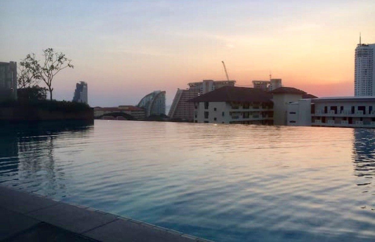 3 Pattaya next to market,core district, high-end อพาร์ตเมนต์ 1 ห้องนอน 1 ห้องน้ำส่วนตัว ขนาด 45 ตร.ม. – นาเกลือ/บางละมุง