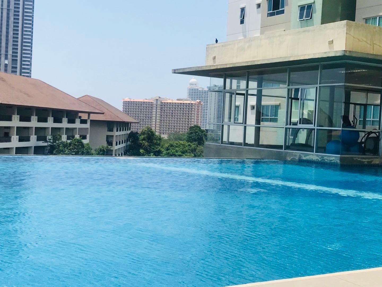 Pattaya next to  market, core district, high-end อพาร์ตเมนต์ 1 ห้องนอน 1 ห้องน้ำส่วนตัว ขนาด 30 ตร.ม. – นาเกลือ/บางละมุง