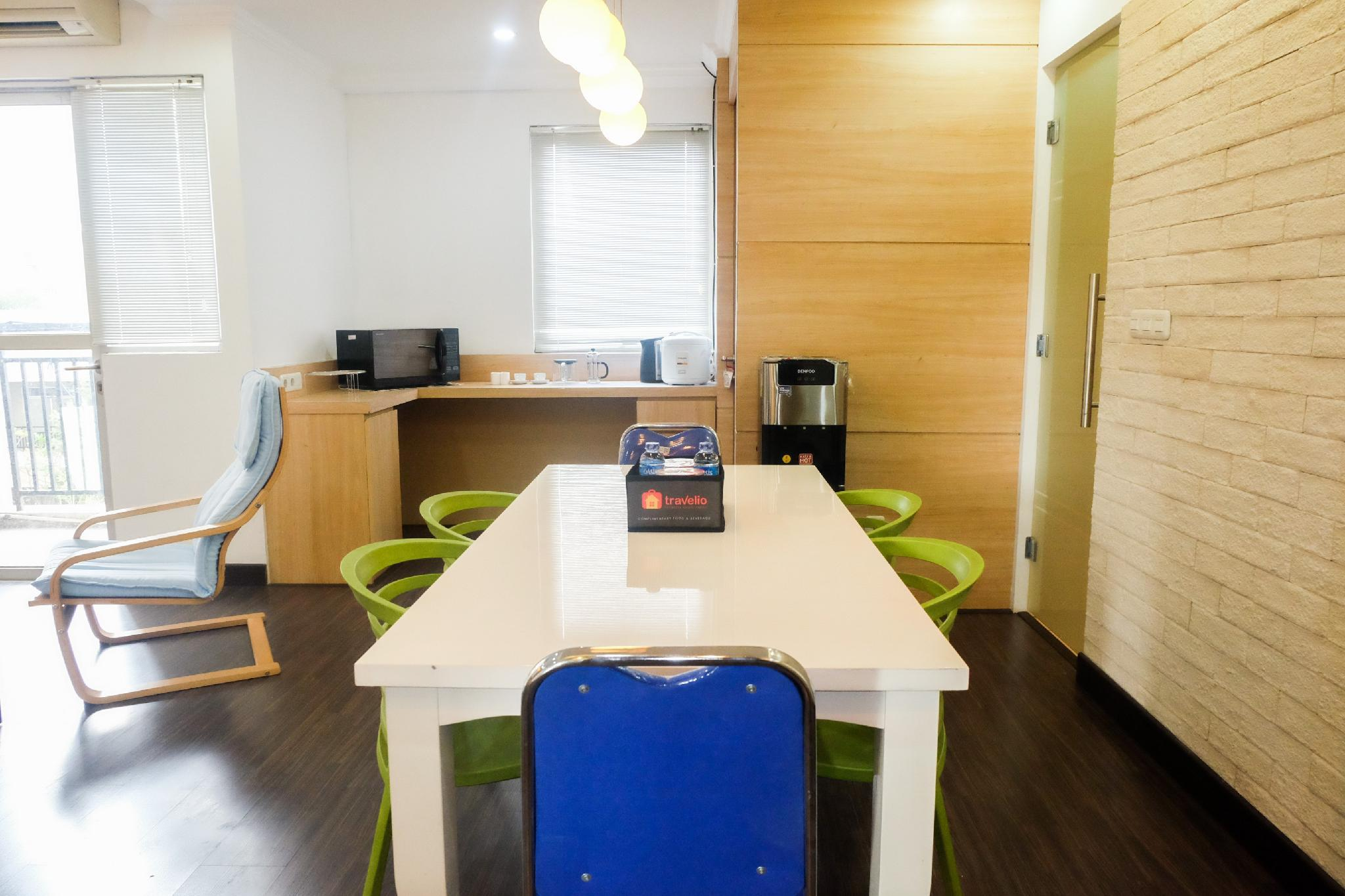 Spacious 1BR For 5 Pax @Maple Park Apt By Travelio