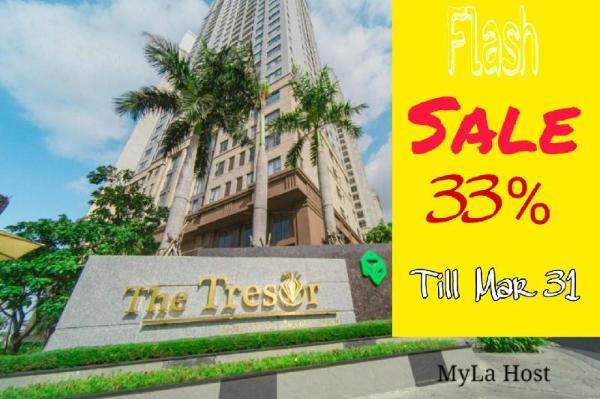 TheTresor#Cozy Apt#Pool&Gym&NETFLIX Free-MyLa Host Ho Chi Minh City
