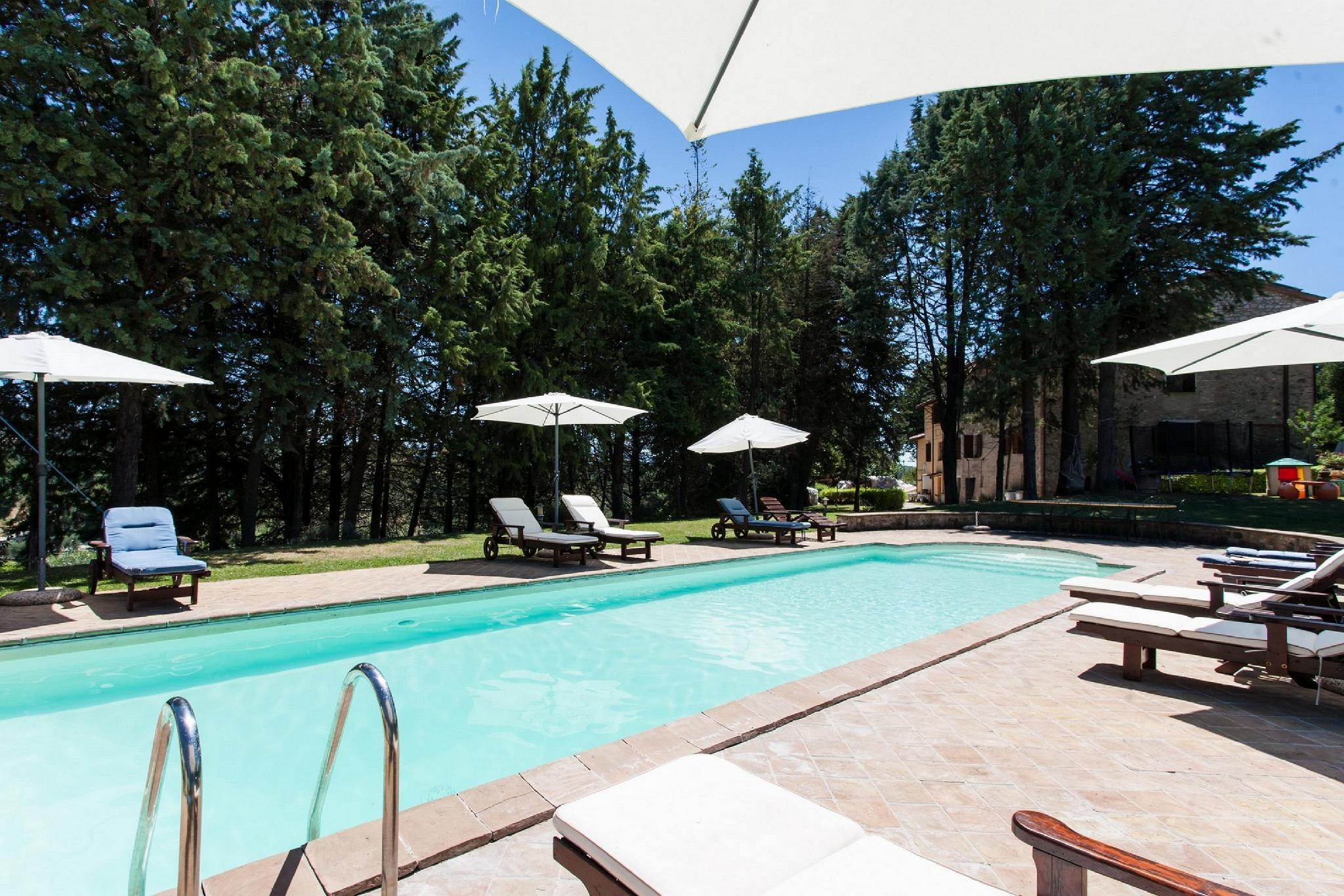 Villa Cottage Umbertide, close to Gubbio and Assisi, with panoramic pool !!!