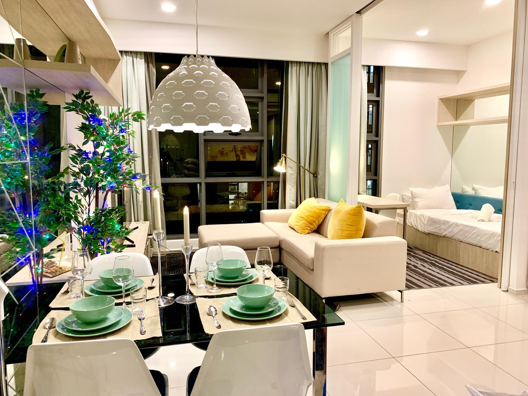 The Robertson Kuala Lumpur 2BR  White Forest Noble