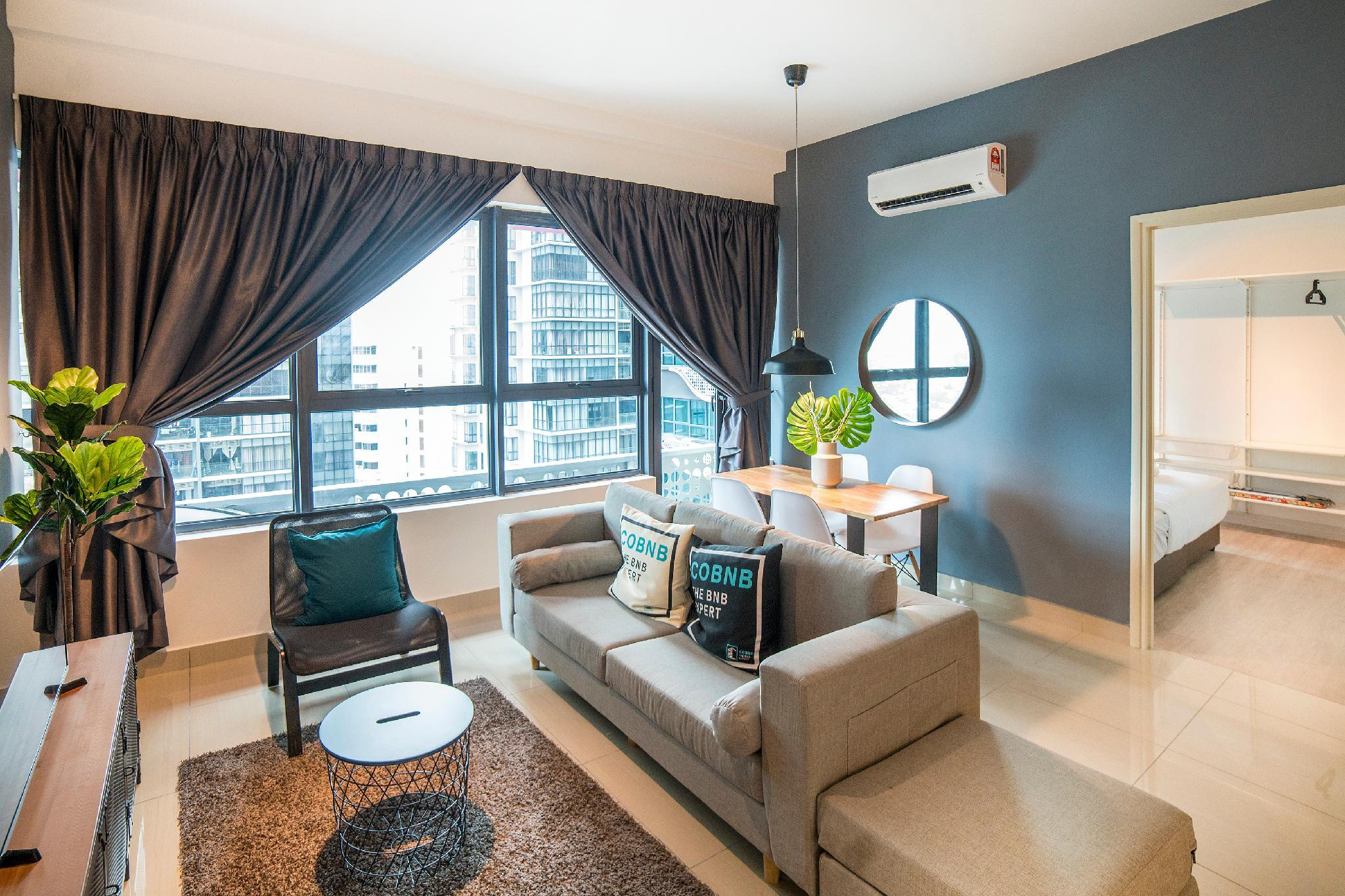KL Arte Plus Modern Living 2Bed Room@COBNB  AT111