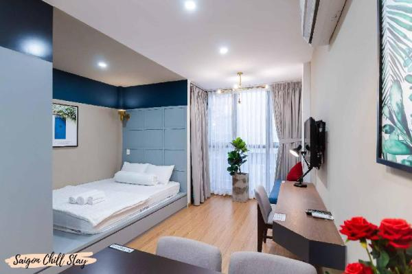 Japanese Town @Brand New Spacious Deluxe Studio 2F Ho Chi Minh City