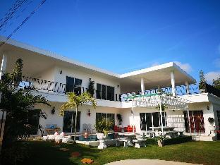 [フアイヤイ]ヴィラ(500m2)| 6ベッドルーム/5バスルーム AnB White poolvilla 6 BR/5Bath in Jomtian