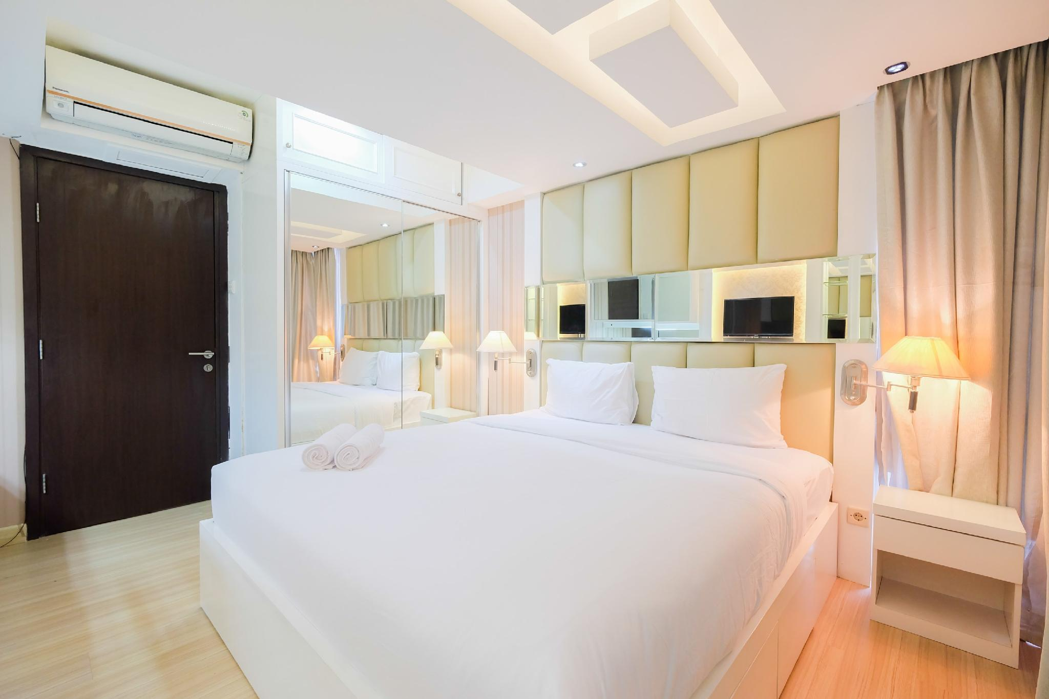Contemporary 2BR Apt @ H Residence By Travelio