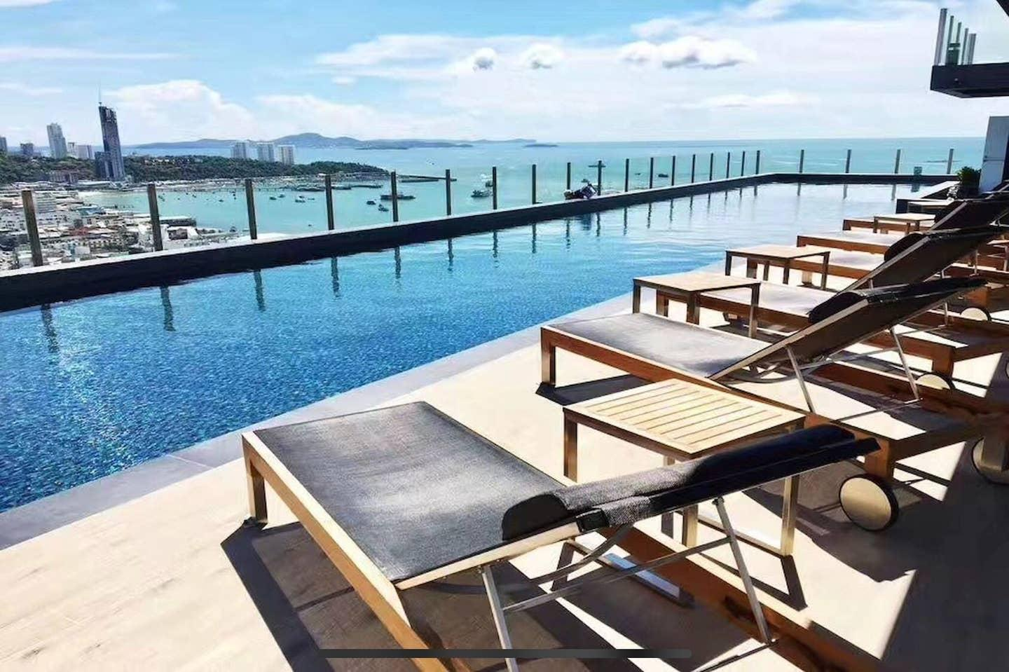 The Base Roof Infinity Pool