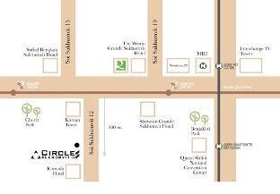 [スクンビット]一軒家(50m2)| 1ベッドルーム/1バスルーム One Plus Bedroom/2 King Beds/BTS Asoke
