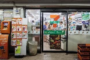 [チャトチャック]スタジオ アパートメント(58 m2)/1バスルーム B4 Locally comfy Large room 3mins walk to MRT