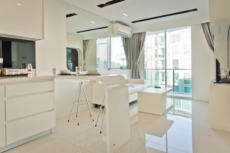 MODERN 1 Bedroom in City Center Residence อพาร์ตเมนต์ 1 ห้องนอน 1 ห้องน้ำส่วนตัว ขนาด 35 ตร.ม. – พัทยากลาง