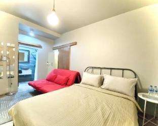 [トンブリー]アパートメント(16m2)| 1ベッドルーム/1バスルーム Designer PoolHouse*Krungtonburi BTS*IconSiam *No.6
