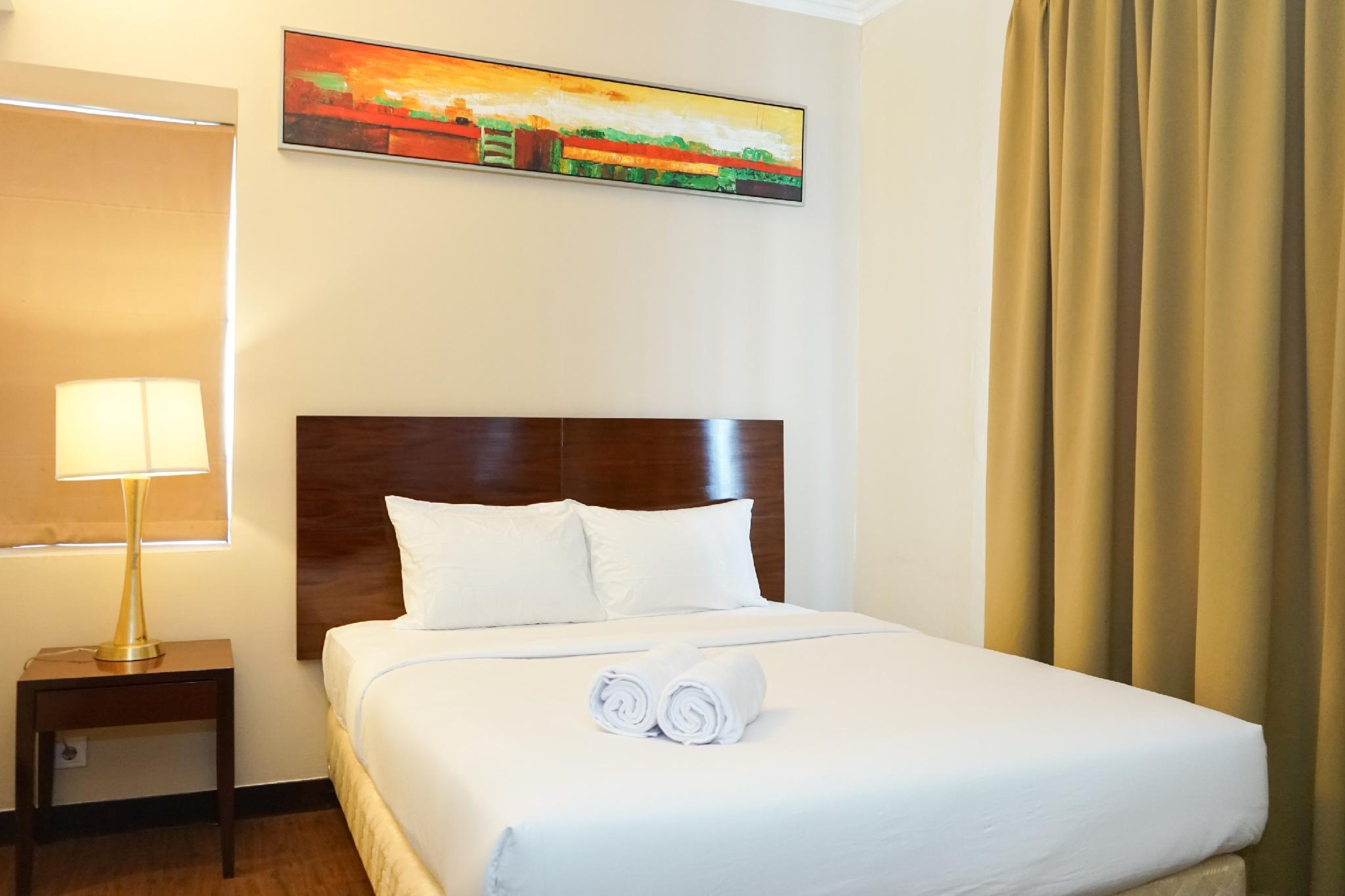 1BR @ Ancol Marina Apartment By Travelio