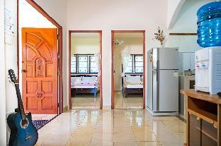 [ウォックトゥム]一軒家(55m2)| 2ベッドルーム/1バスルーム 55m, Family, Parking, A/C, Full Kitchen, Balcony