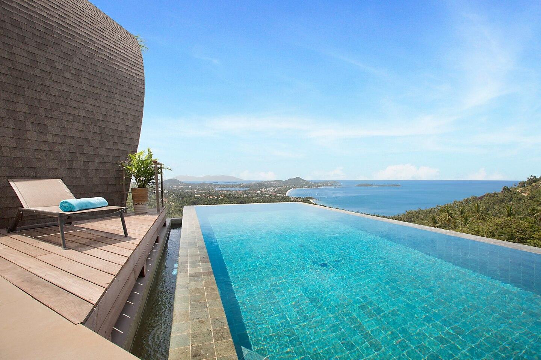 Villa Tao @ Comoon 3 Br Stunning Sea Views วิลลา 3 ห้องนอน 4 ห้องน้ำส่วนตัว ขนาด 200 ตร.ม. – เฉวงน้อย