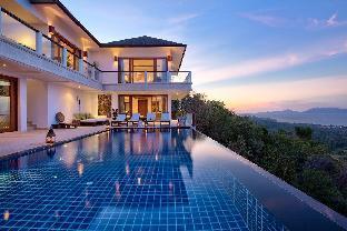 Ban Lealay - Luxury 4 bedroom villa on Bophut Hill วิลลา 4 ห้องนอน 4 ห้องน้ำส่วนตัว ขนาด 200 ตร.ม. – หาดบ่อผุด