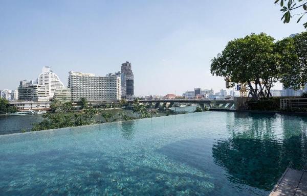 Luminous 13th Floor Apartment with River Views Bangkok