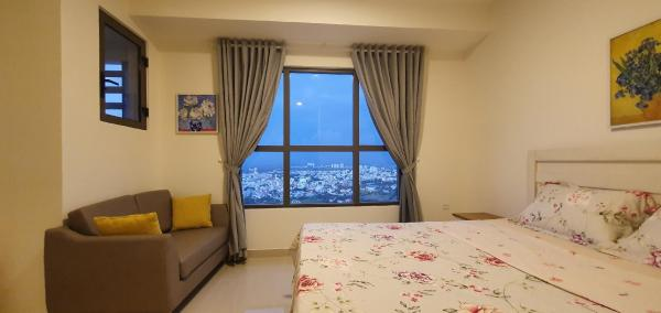 Cozy studio with an amazing view and natural light Ho Chi Minh City