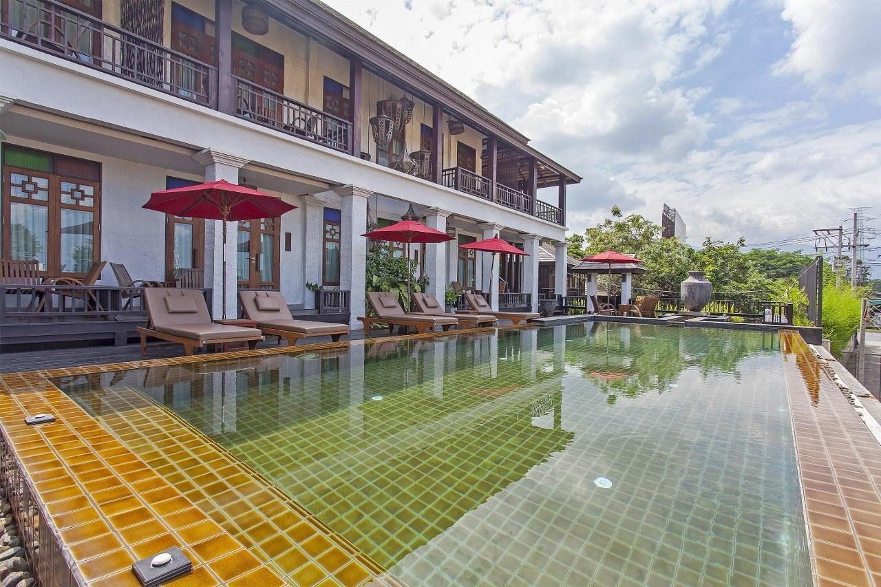 Na Lanna Garden Resort 12BR Sleeps 24 w/ Pool    วิลลา 12 ห้องนอน 12 ห้องน้ำส่วนตัว ขนาด 1532 ตร.ม. – ฟ้าฮ่าม