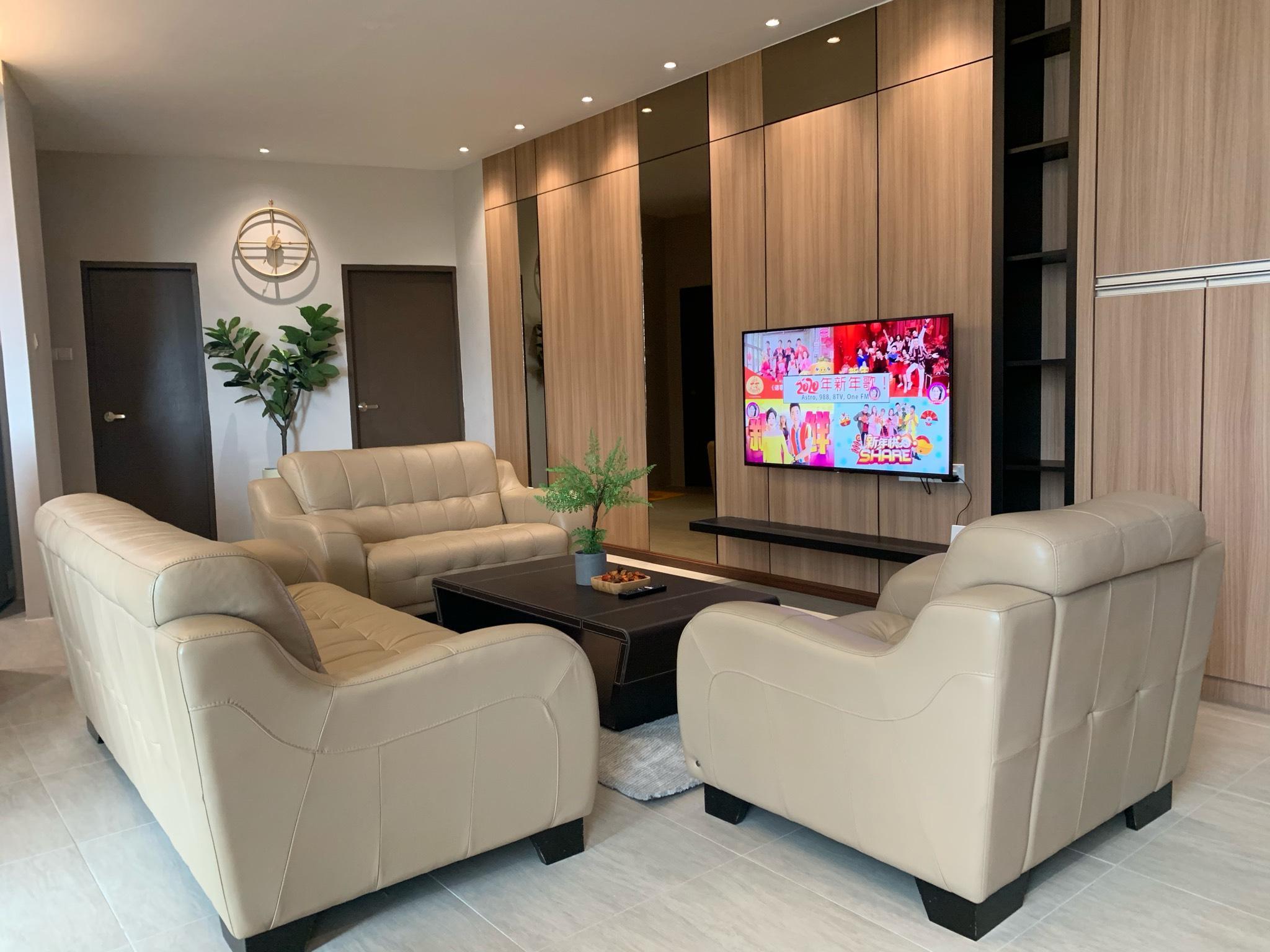 3Bedroom 5-10pax Rex Apartment 5min Vivacity