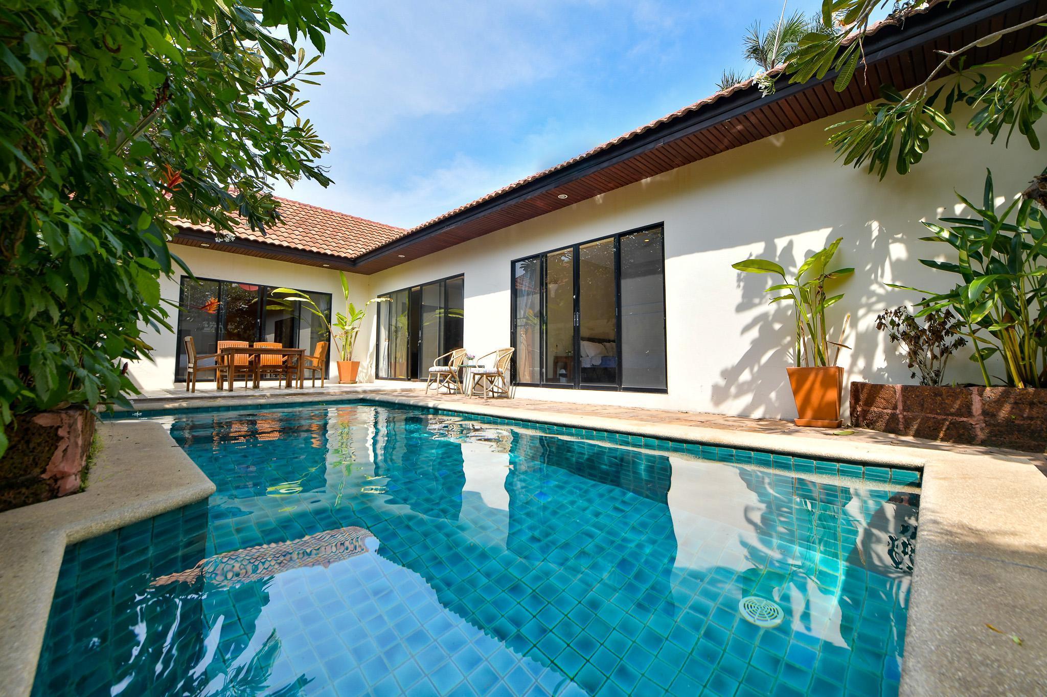 2 BR Pool Villa 800 m beach 3 km walkingstreet วิลลา 2 ห้องนอน 2 ห้องน้ำส่วนตัว ขนาด 240 ตร.ม. – หาดจอมเทียน