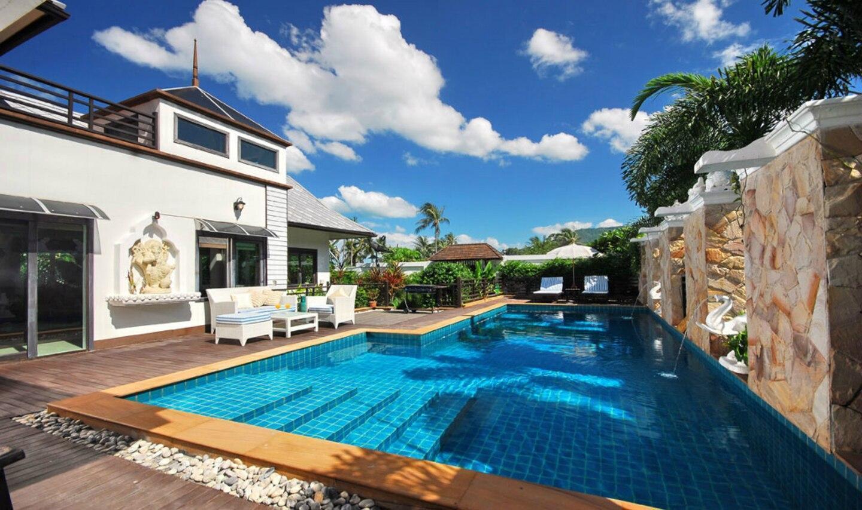 8 Bedroom Villas in Chaweng วิลลา 8 ห้องนอน 8 ห้องน้ำส่วนตัว ขนาด 400 ตร.ม. – หาดเฉวง