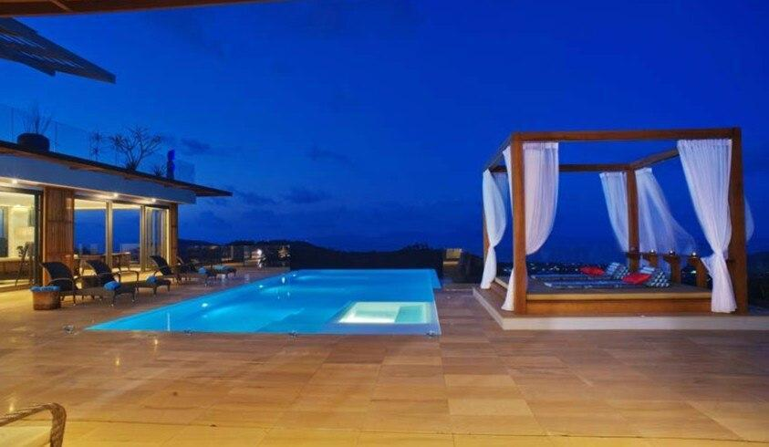 3 Bedroom Sea Blue Villa - 5 Star with Staff วิลลา 3 ห้องนอน 6 ห้องน้ำส่วนตัว ขนาด 1000 ตร.ม. – หาดบ่อผุด