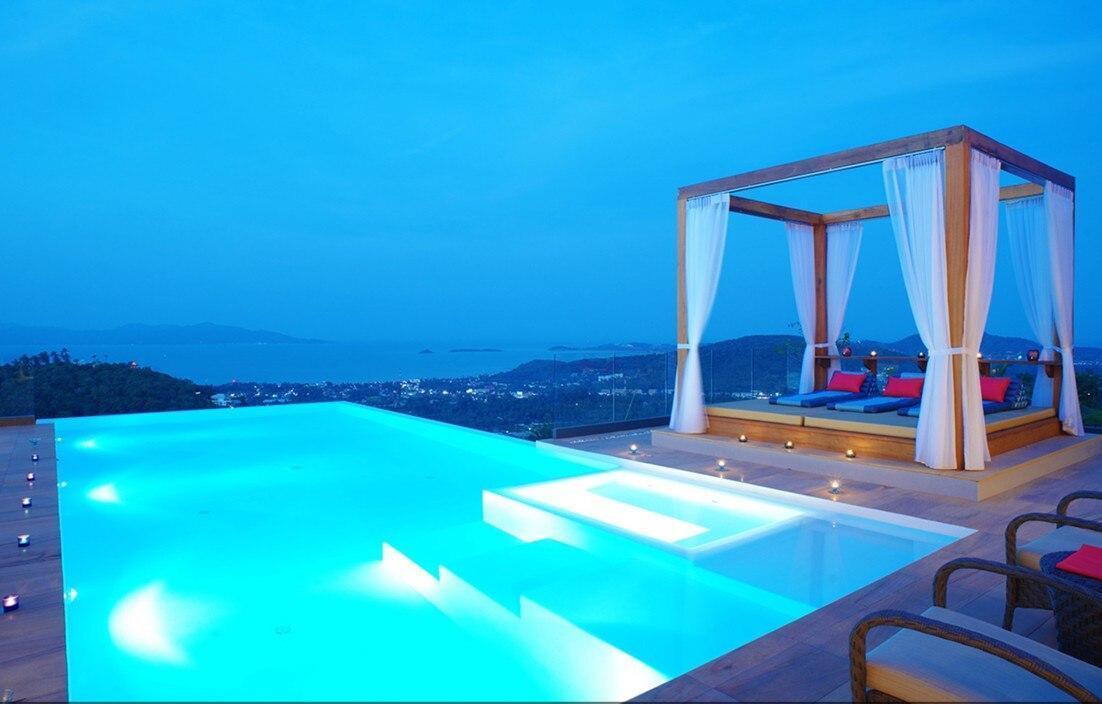 5 Bedroom Sea Blue Villa - 5 Star with Staff วิลลา 5 ห้องนอน 5 ห้องน้ำส่วนตัว ขนาด 1000 ตร.ม. – หาดบ่อผุด