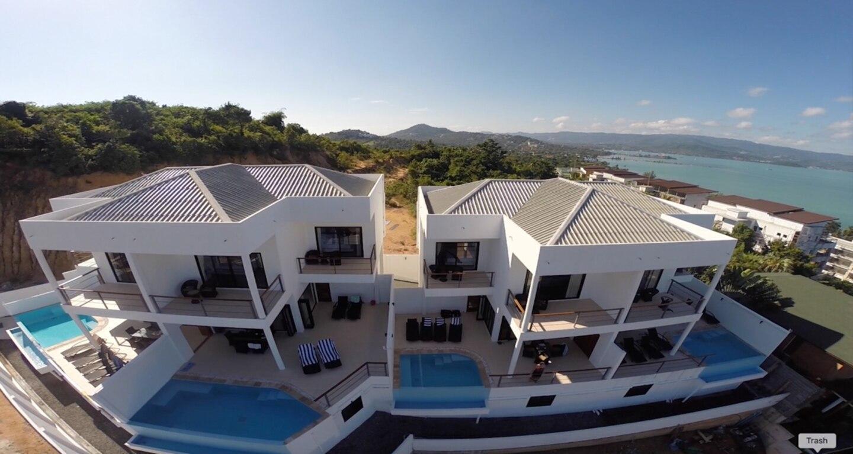 6 Bedroom Seaview Villa 5 mins to Beach วิลลา 6 ห้องนอน 6 ห้องน้ำส่วนตัว ขนาด 300 ตร.ม. – เชิงมน