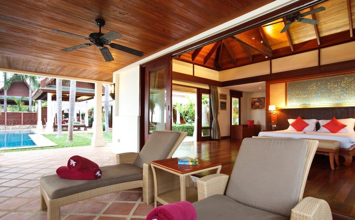 3 Bedroom Beach Front Villa Acadia Bophut วิลลา 3 ห้องนอน 3 ห้องน้ำส่วนตัว ขนาด 150 ตร.ม. – แม่น้ำ