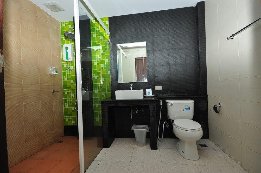 Modern Room Twin beds on Phi Phi 2 สตูดิโอ อพาร์ตเมนต์ 1 ห้องน้ำส่วนตัว ขนาด 45 ตร.ม. – อ่าวต้นไทร