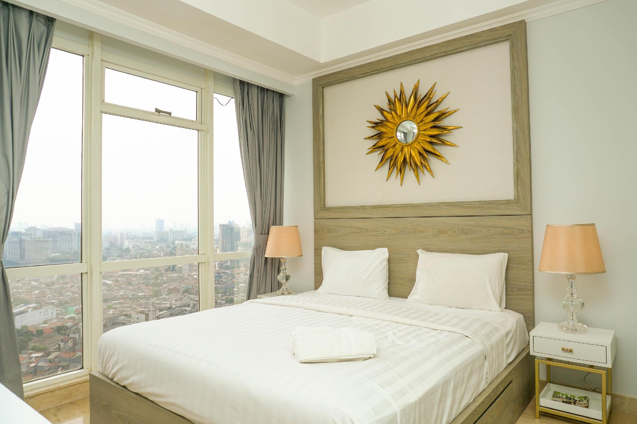 Luxurious 2BR With Private Lift At Menteng Park Apartment By Travelio