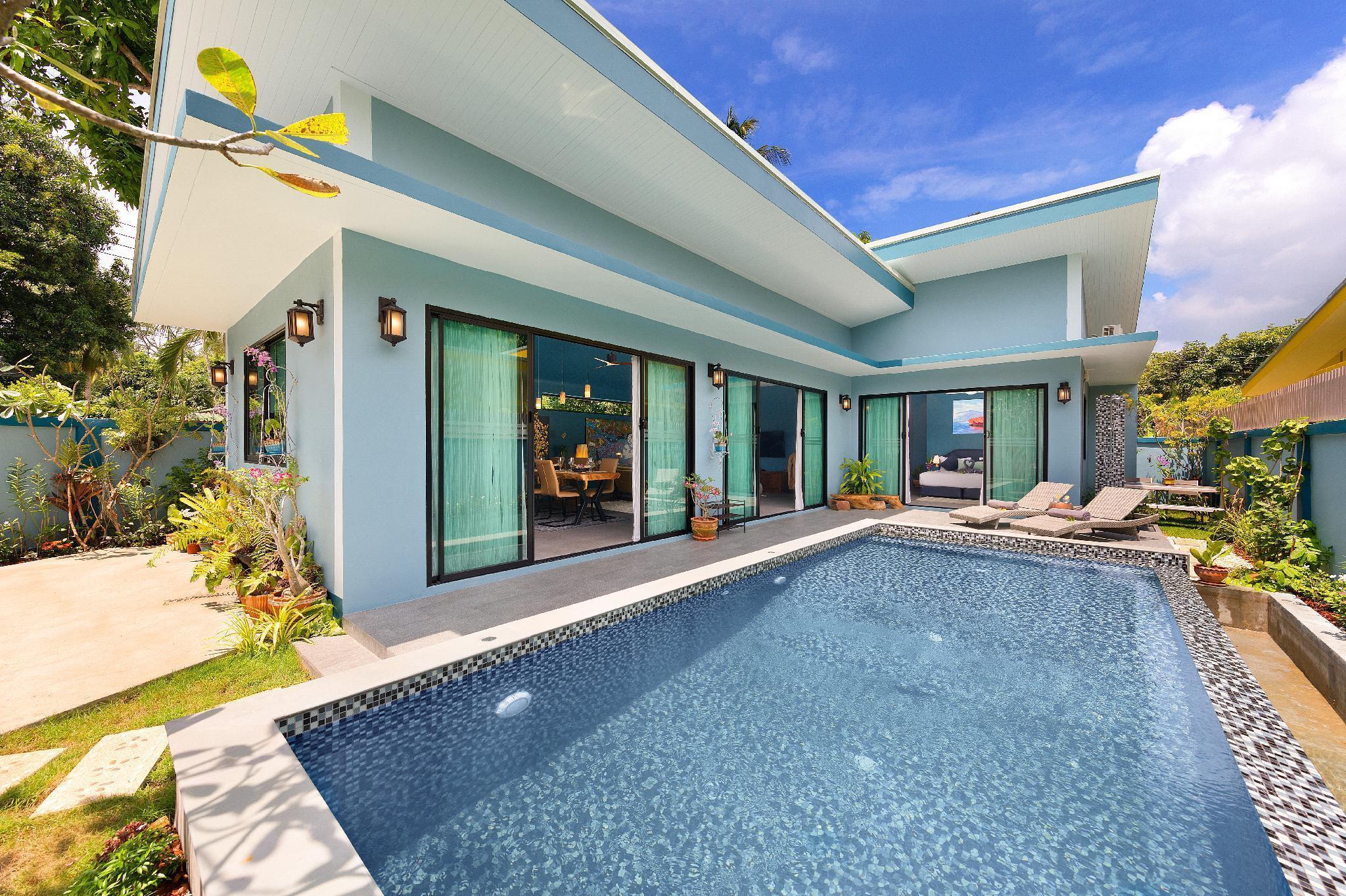 South Samui Haven.Baan KluayMai with private pool. วิลลา 3 ห้องนอน 3 ห้องน้ำส่วนตัว ขนาด 210 ตร.ม. – หน้าเมือง