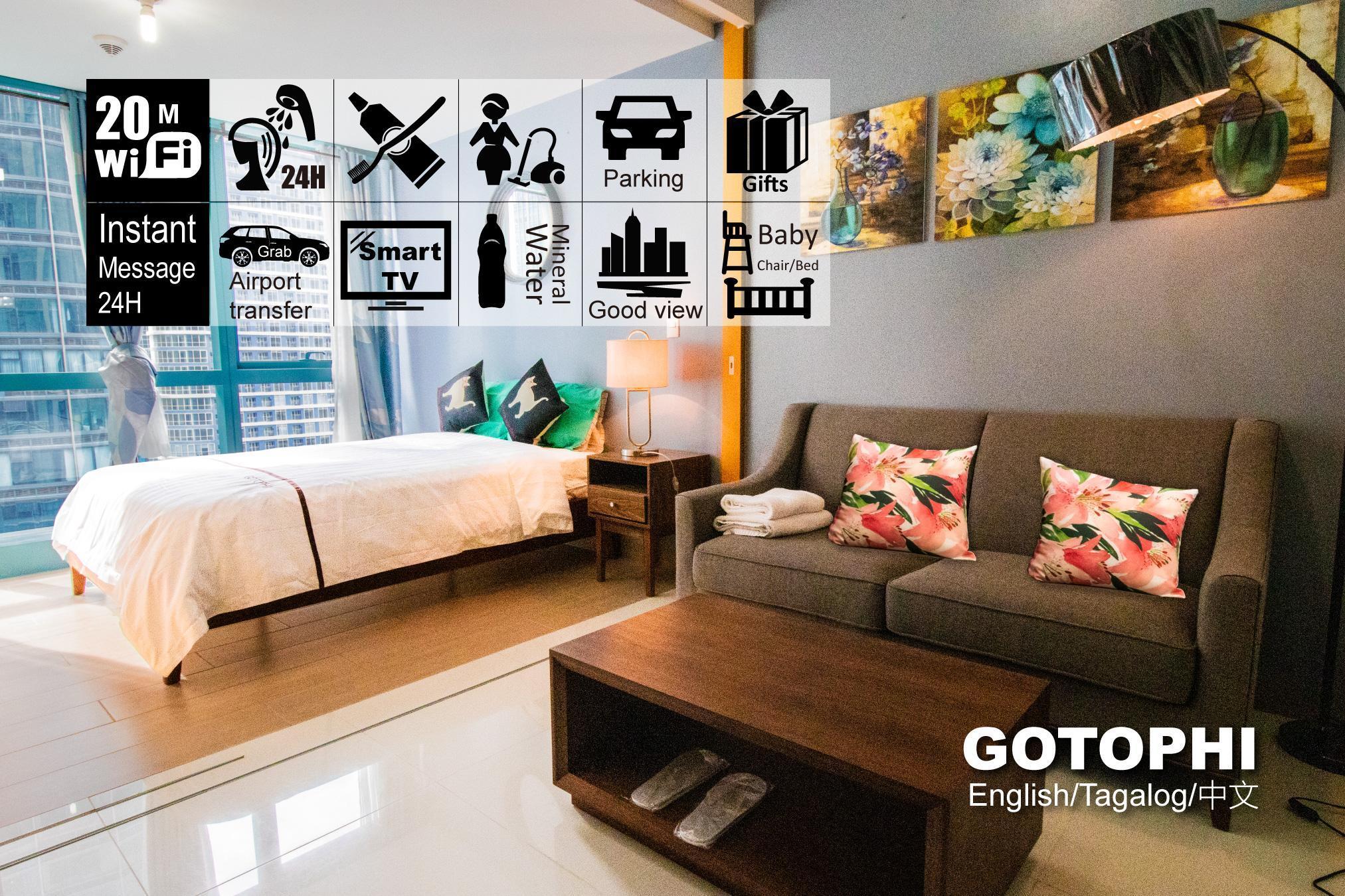 One uptown residence BGC Gotophi 5Star hotel E