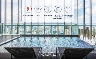 [スクンビット]アパートメント(40m2)| 1ベッドルーム/1バスルーム HappyZleepy S24 50thCloud Pool, 5mins BTS PromPong