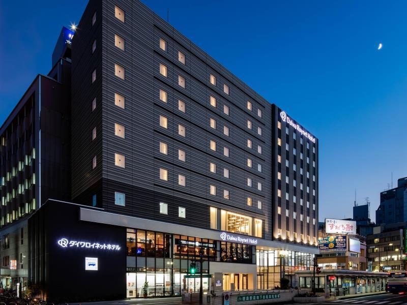 โรงแรมไดวะ รอยเนต โทะกุชิมะ เอกิมะเอะ