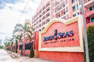 Seven Seas Condo Resort Studio สตูดิโอ อพาร์ตเมนต์ 1 ห้องน้ำส่วนตัว ขนาด 28 ตร.ม. – หาดจอมเทียน